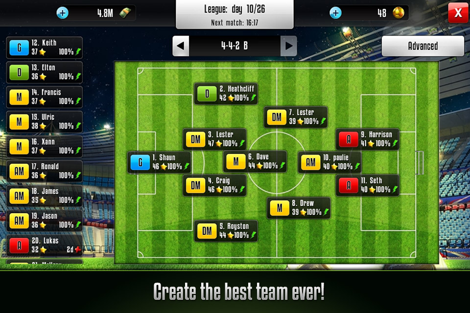 Football Champions Online Game